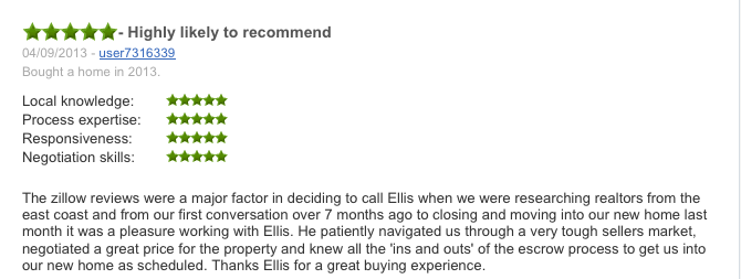Zillow Agent Review 2419 Grant Ave A Redondo Beach CA
