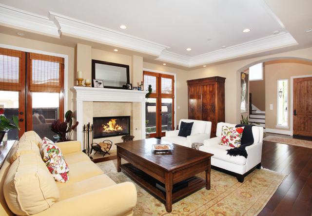 Redondo Beach Townhouse Livingroom