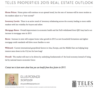 Teles Properties Real Estate Outlook 2015