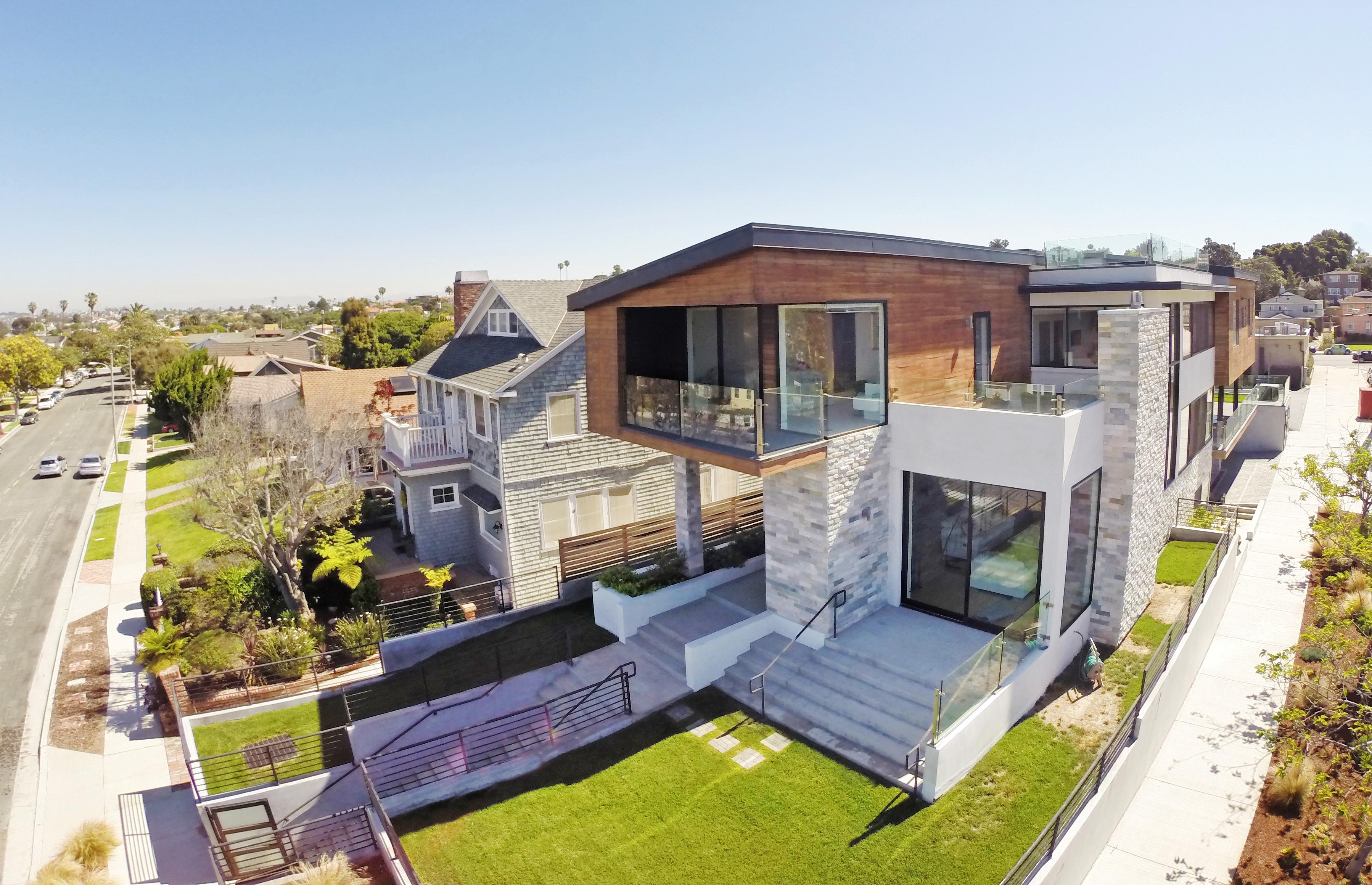 Architectural Ocean View Redondo Beach House for Sale - Ellis Posner