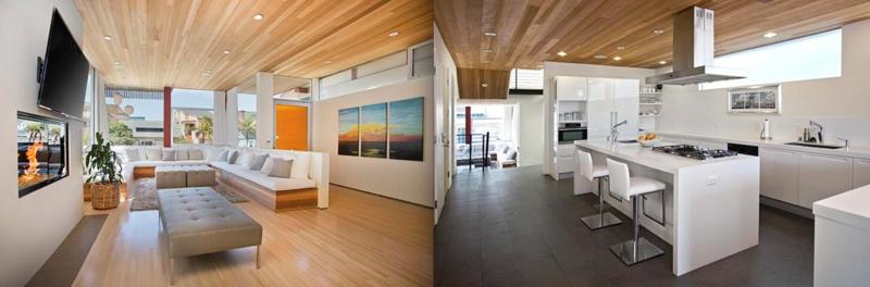 Hermosa Beach Modern Walkstreet Home