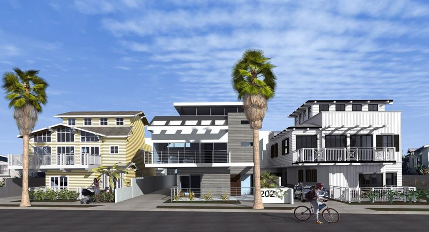 New townhomes south redondo beach