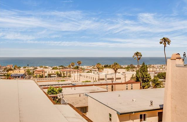 Ocean Views from Hermosa Beach Townhouse