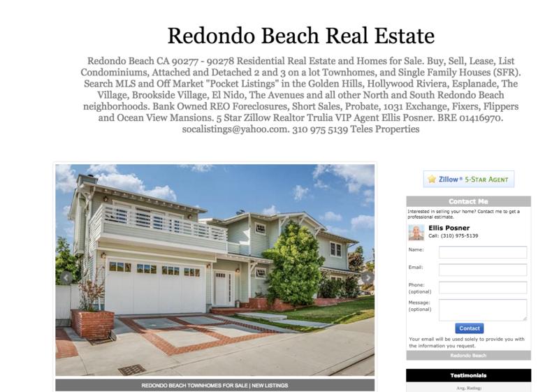 South Redondo Beach Real Estate