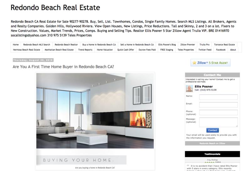 North Redondo Beach Real Estate