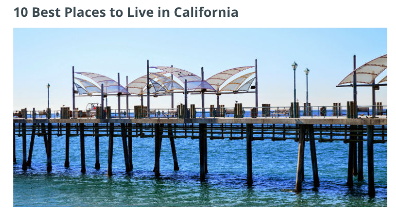 Is redondo beach one of the ten best places to live in for Good places to live in california